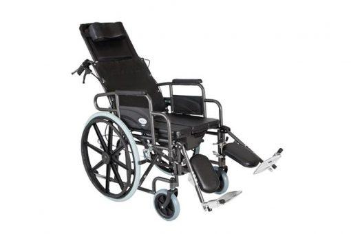 Αναπηρικό Αμαξίδιο Ενισχυμένο RECLINING με Δοχείο Mobiak 0806062