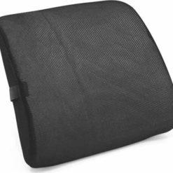 Vita Orthopaedics Deluxe Lumbar Cushion ανατομικό μαξιλάρι υποστήριγμα μέσης μαύρο 08-2-005